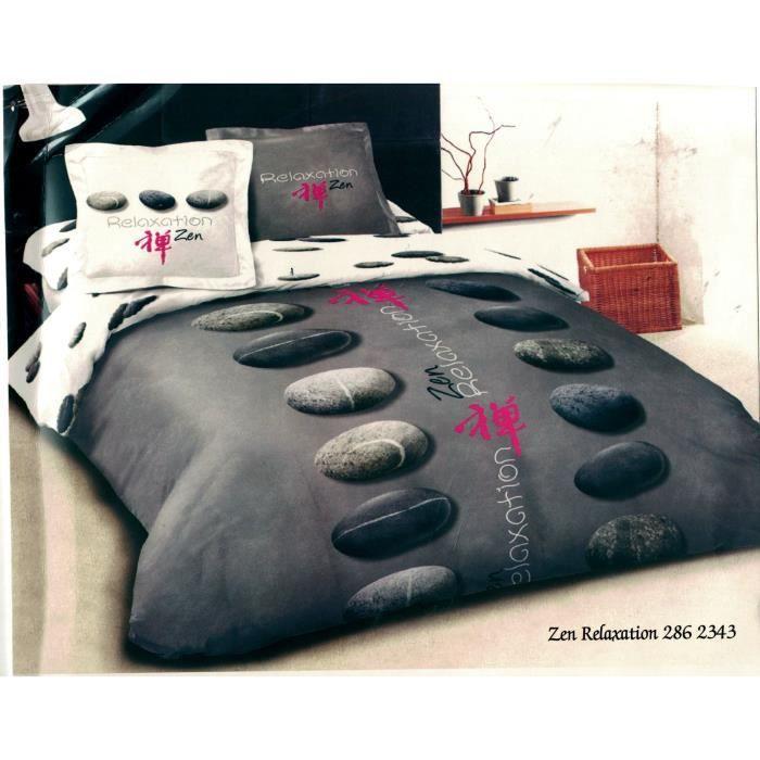 parure de lit housse de couette 100 coton percal 70 fils m2 parure de couette 220x240 achat. Black Bedroom Furniture Sets. Home Design Ideas