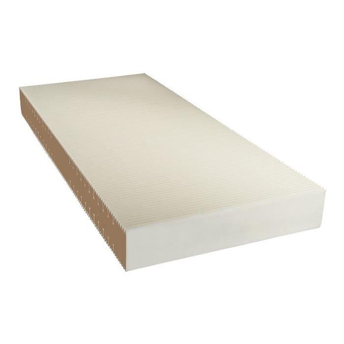 matelas top line hamburg 120x200 h19 densit hr 50 d houssable orthop dique en vrai mousse. Black Bedroom Furniture Sets. Home Design Ideas
