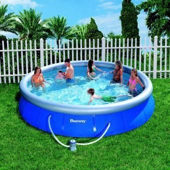 Piscine hors sol autoportante 3 66m x 0 91m piscine hors for Piscine bestway 3 66