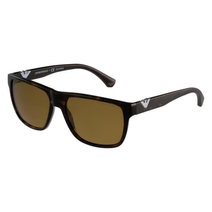 lunettes de soleil emporio armani ea4035 5026 83 havane achat vente lunettes de soleil. Black Bedroom Furniture Sets. Home Design Ideas