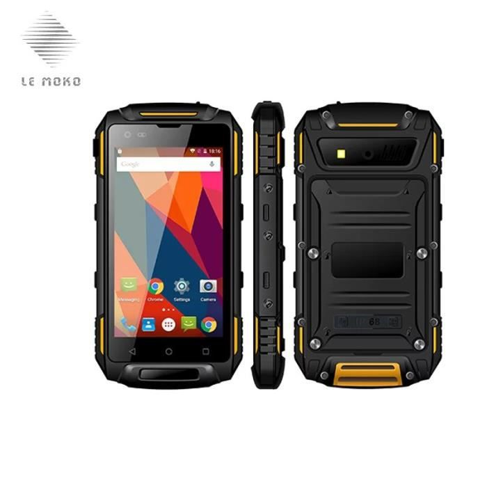 t l phone portable smartphone 4 5 ip68 waterproof 4g lte smartphone android 5 1 achat. Black Bedroom Furniture Sets. Home Design Ideas