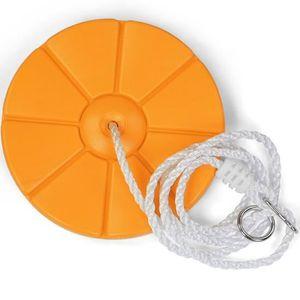 BALANÇOIRE - PORTIQUE Balançoire disque pour enfants orange
