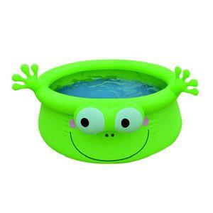 jolie piscine ovale autoportée de rêve