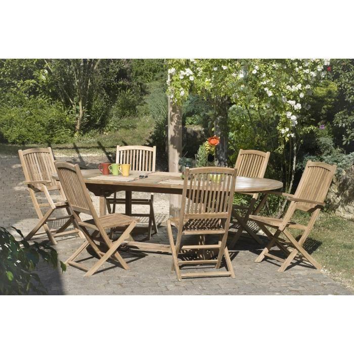 salon de jardin teck achat vente salon de jardin salon. Black Bedroom Furniture Sets. Home Design Ideas