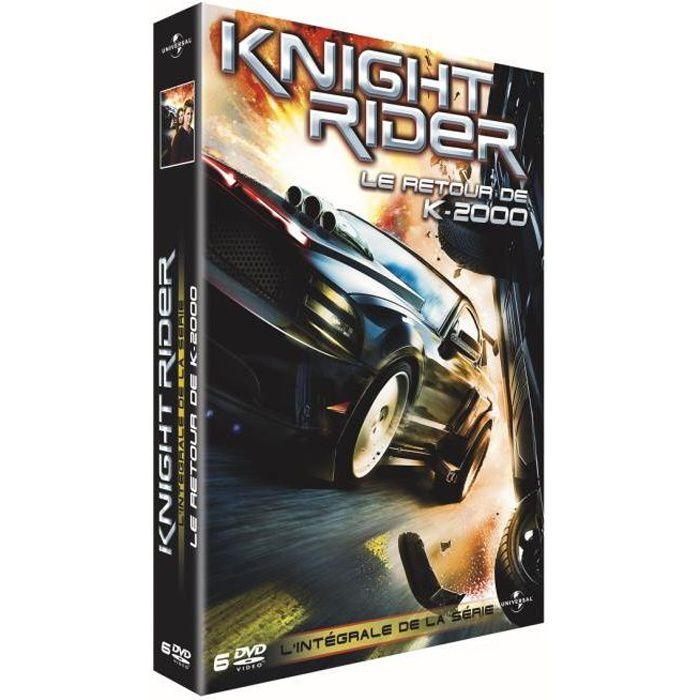 dvd knight rider le retour de k 2000 en dvd s rie pas cher cdiscount. Black Bedroom Furniture Sets. Home Design Ideas