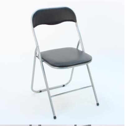 chaise pliante noir basic achat vente chaise noir cdiscount. Black Bedroom Furniture Sets. Home Design Ideas