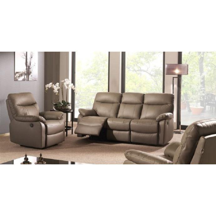 salon cuir relax lectrique achat vente salon complet cadeaux de no l cdiscount. Black Bedroom Furniture Sets. Home Design Ideas