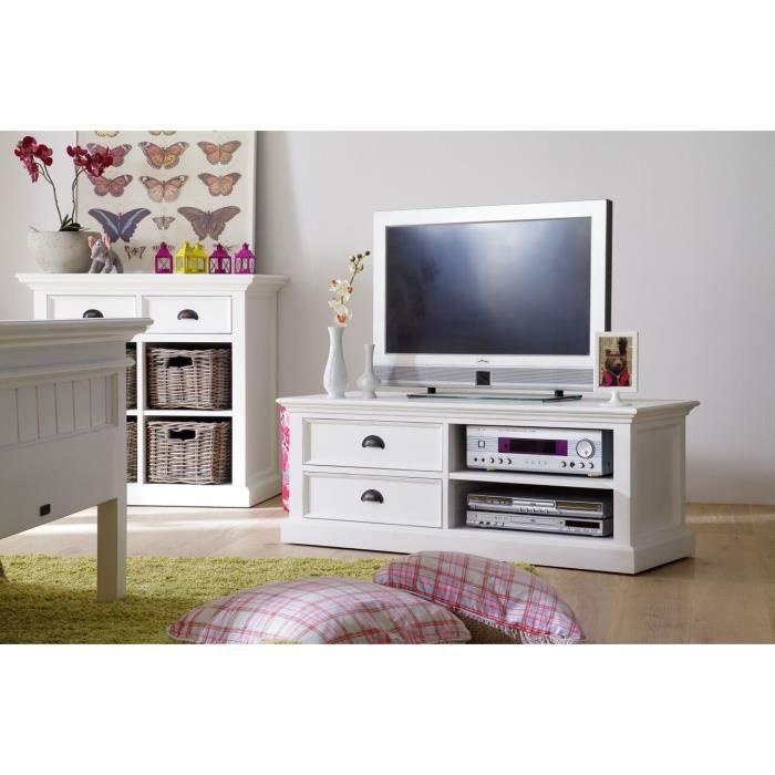 Petit meuble tv cygne meuble house achat vente for Petit meuble tv