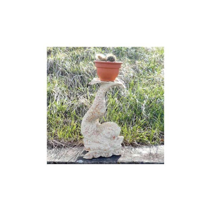 poisson pour support de pots de fleurs achat vente statue statuette poisson pour support. Black Bedroom Furniture Sets. Home Design Ideas