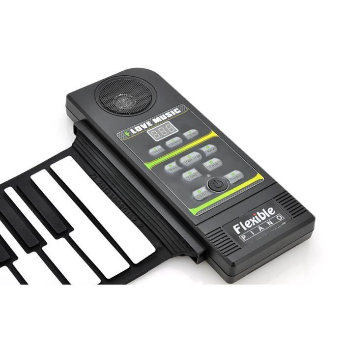 clavier synth tiseur haut parleur flexible pian pas cher. Black Bedroom Furniture Sets. Home Design Ideas