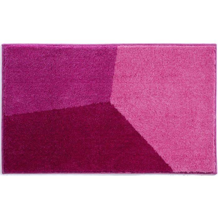 tapis de bain 70 x 120 acrylique violet rose rouge achat vente tapis de bain cadeaux de. Black Bedroom Furniture Sets. Home Design Ideas