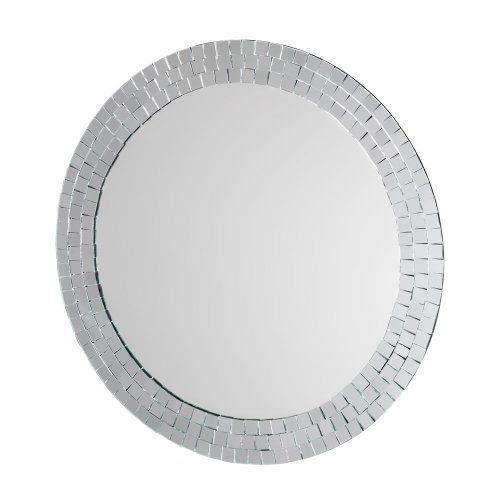 Croydex mm700700 meadley miroir rond avec entourage en for Miroir rond mosaique