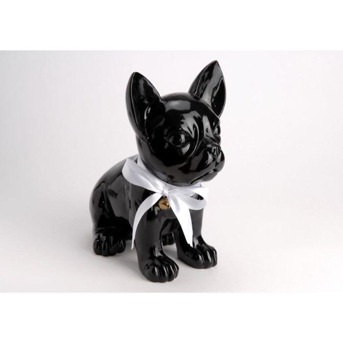 Chien decoratif for Decoration chien resine