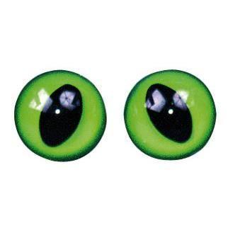 yeux des chats vert noir 12 mm coudre achat