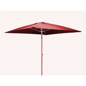 parasol rouge achat vente parasol rouge pas cher. Black Bedroom Furniture Sets. Home Design Ideas