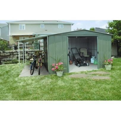 Abri de jardin en m tal avec b cher 10 3 m achat vente abri jardin c - Vente abris de jardin ...