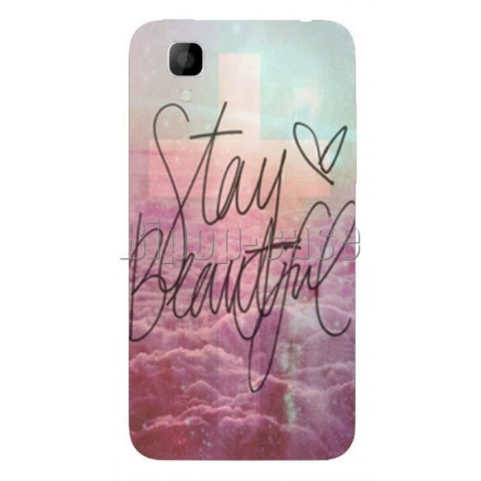 coque protection telephone wiko sunset stay beautiful croix nuage achat coque bumper pas. Black Bedroom Furniture Sets. Home Design Ideas