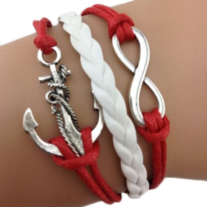 Bracelet ancre - Bracelet couple ancre ...