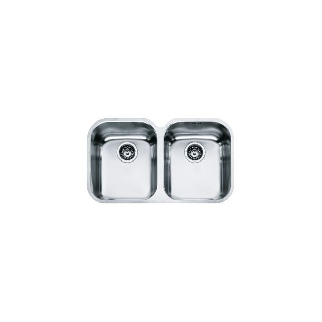 Eviers double cuves franke armonia inox inox d achat for Evier double inox