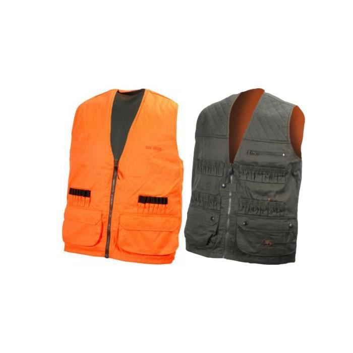 gilet r versible traqueur chasse achat vente gilet cdiscount. Black Bedroom Furniture Sets. Home Design Ideas