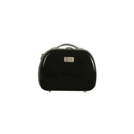 vanity rigide adaptable sur valise couleur noir achat vente valise bagage. Black Bedroom Furniture Sets. Home Design Ideas