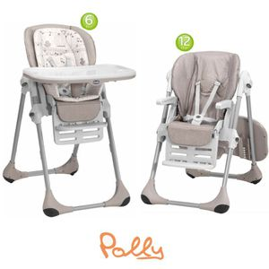 CHICCO Chaise Haute Polly 2 en 1 Chick To Chick