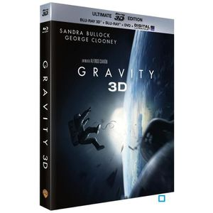 BLU-RAY FILM Blu-ray 3D Gravity - Ultimate Edition