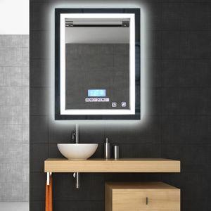 miroir salle de bain 80x80 achat vente miroir salle de bain 80x80 pas cher cdiscount. Black Bedroom Furniture Sets. Home Design Ideas