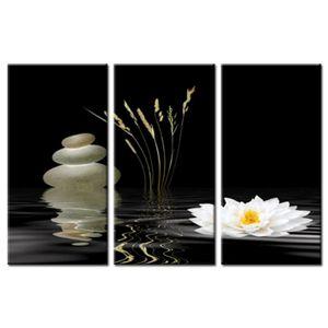 tableau zen fleur de lotus