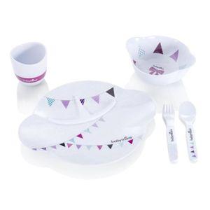 ENSEMBLE REPAS BABYMOOV Coffret Repas Party Lunch Set Girl