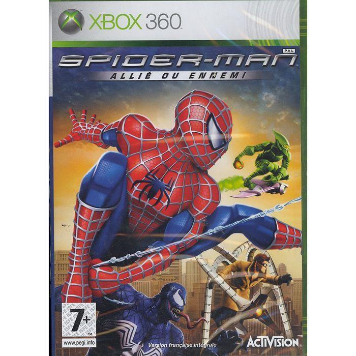 Spiderman allie ou ennemi jeu console xbox 360 achat - Les jeux de spiderman 4 ...