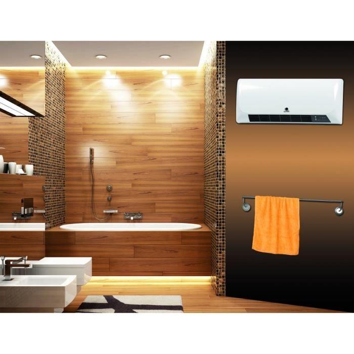 Soufflant salle de bain mural - Chauffage soufflant ceramique salle de bain ...