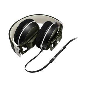 SENNHEISER URBANITE XL Olive Casque audio avec micro compatible Apple