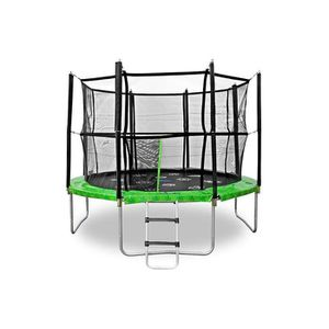 Jumpspirit 12 ft 366 cm premium trampoline d 39 ext rieur avec filet de s - Trampoline d exterieur ...