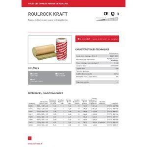 roulrock kraft rlx de 6m achat vente laine. Black Bedroom Furniture Sets. Home Design Ideas