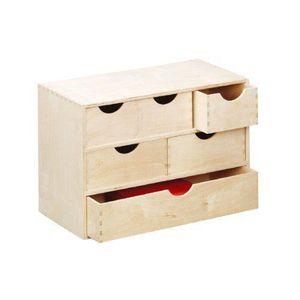 bloc tiroirs bois achat vente bloc tiroirs bois pas cher cdiscount. Black Bedroom Furniture Sets. Home Design Ideas