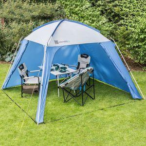 Tonnelle camping achat vente tonnelle camping pas cher - Auvent de jardin en toile ...