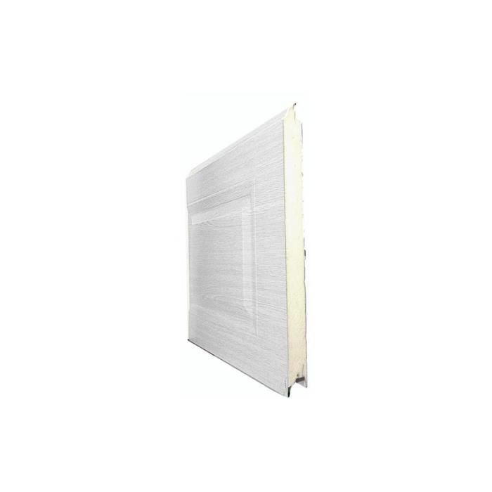 Porte De Garage Sectionnelle Standard 2400x2150mm Lisse Plax Ch Ne Dor Achat Vente Porte