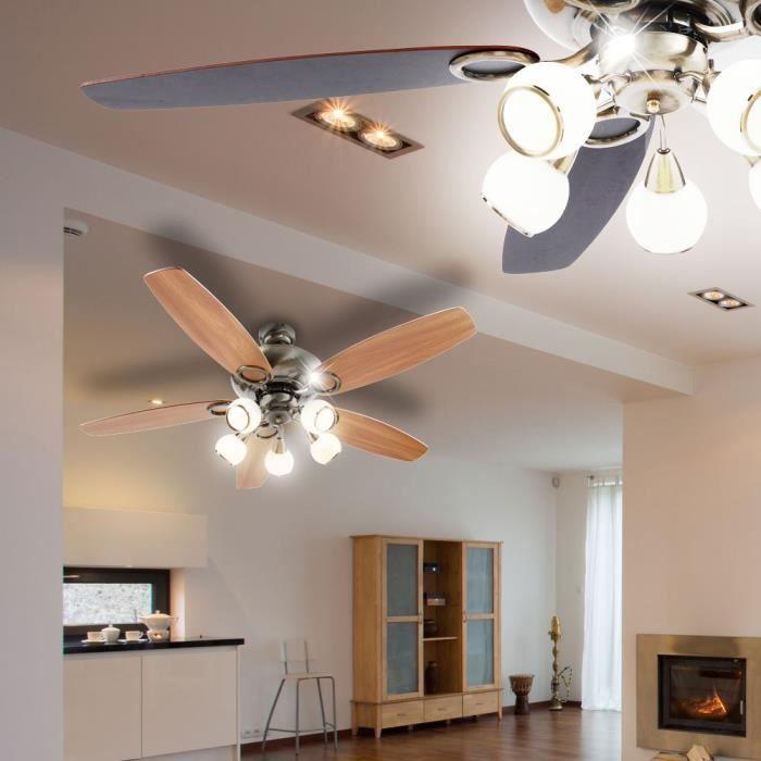 Ventilateur de plafond led 20w interrupteur tirette lumi re globo mistral 0336 achat vente - Ventilateur de plafond 12 volts ...