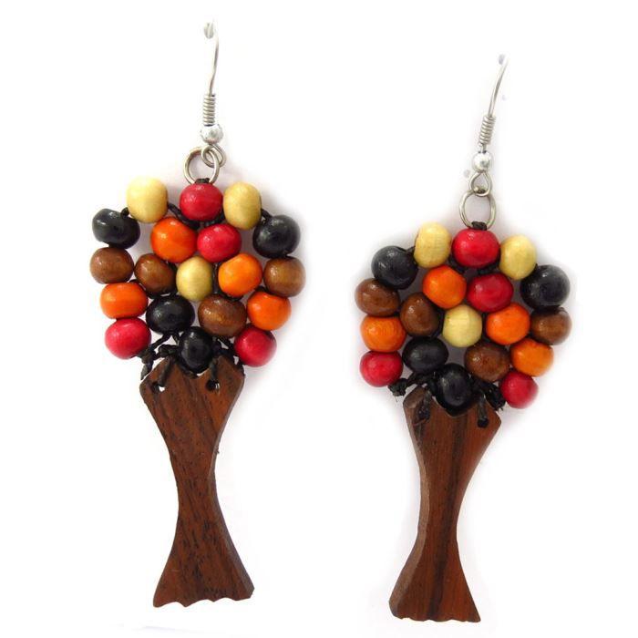 Boucles cr ateur coloriage marron orange arbre achat - Coloriage marron ...