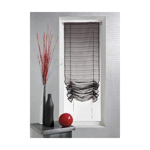 voilage petite fenetre achat vente voilage petite fenetre pas cher cdiscount. Black Bedroom Furniture Sets. Home Design Ideas