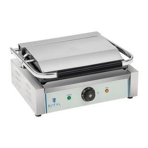GRILL ÉLECTRIQUE Machine à panini - 1 x 2.200 watts
