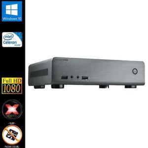 UNITÉ CENTRALE  Mini-PC, Intel 2x2.41GHz, 8Go RAM, SSD