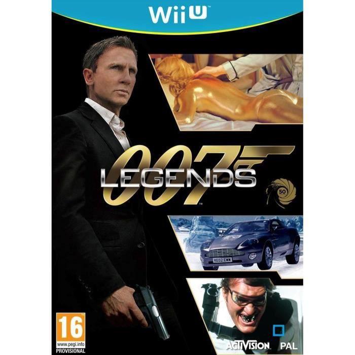 JEUX WII U 007 LEGENDS Jeu Wii U