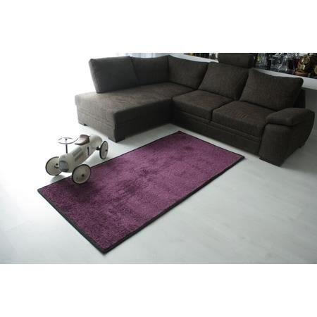 tapis shaggy 100x150 violet achat vente tapis cdiscount. Black Bedroom Furniture Sets. Home Design Ideas