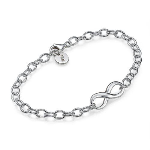 bracelet infini en argent 925 achat vente bracelet. Black Bedroom Furniture Sets. Home Design Ideas
