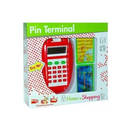 lecteur de carte bancaire avec fonction calculatrice jeu d 39 imitation marchande achat vente. Black Bedroom Furniture Sets. Home Design Ideas