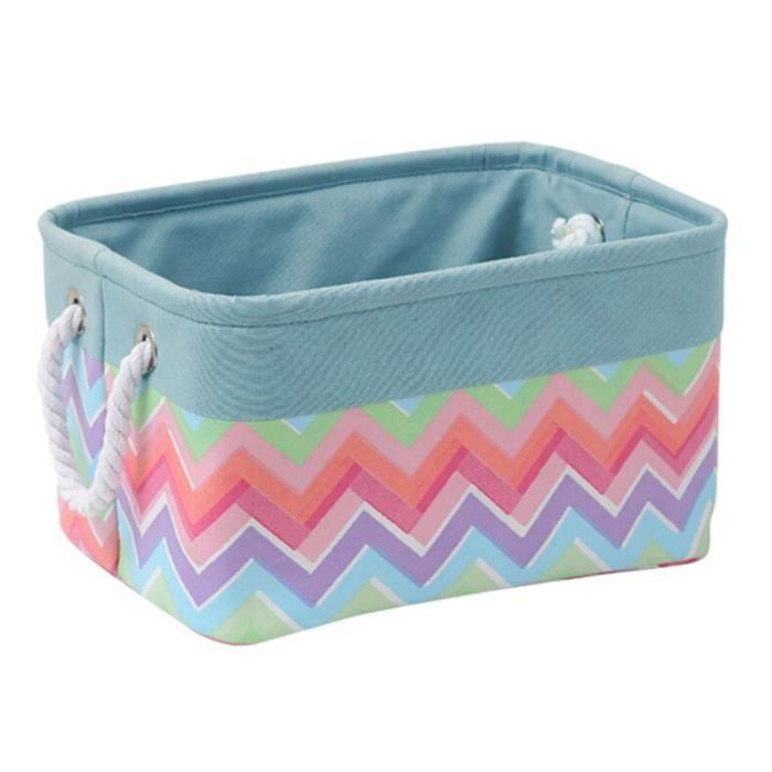tanche panier linge de maison bo te de lessive pliable bleu fleurs achat vente panier. Black Bedroom Furniture Sets. Home Design Ideas