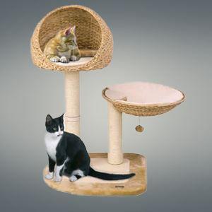 arbre chat banana leaf v beige achat vente arbre chat arbre chat banana leaf v. Black Bedroom Furniture Sets. Home Design Ideas