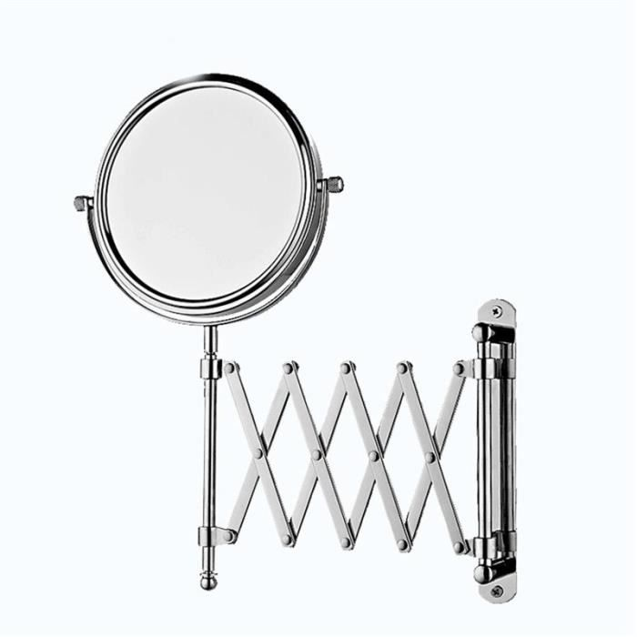 maquillage grossissant chrome miroir salle de bains. Black Bedroom Furniture Sets. Home Design Ideas